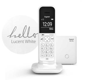 White Wireless Telephone Handset Gigaset CL390A