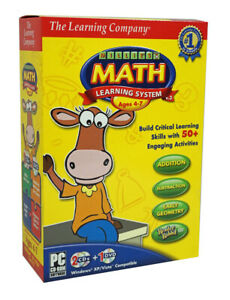 Millie's Math House Learning System PC DVD w/ Reader Rabbit, Great Alphabet Race