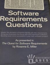 NEW! Software Requirements Questions WINDOWS ROXANNE E MILLER