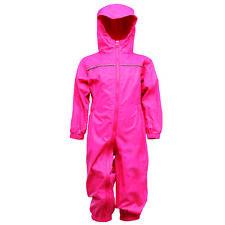 Regatta Kids Paddle Rain Suit Jem Pink Size 4-5