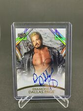 2018 TOPPS LEGENDS OF WWE ON CARD AUTO /199 DIAMOND DALLAS PAGE