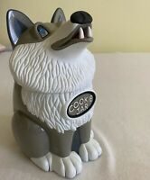 Vintage Howling Wolf Cookie Jar 1998 Fun Damental Too Tested - Battery Included!