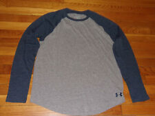 UNDER ARMOUR HEATGEAR LOOSE FIT LONG SLEEVE  T-SHIRT MENS LARGE EXCELLENT