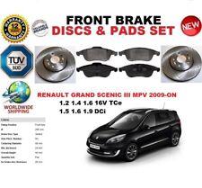 pour Renault Grand Scenic III MPV à partir de 2009 ENSEMBLE DISQUES FREIN AVANT