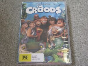 The Croods - Brand New & Sealed - Region 1 - DVD