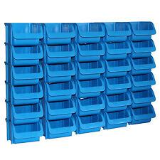 30x Profi Sichtboxen Größe 1 blau NEU Stapelboxen Sicht-Lagerbox Boxen Sichtbox