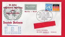 BUSTA 25 anni DICHIARAZIONE GENERALE DEI DIRTTI UMANI Berlino/Ginevra (1973)