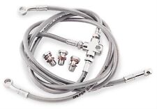 Galfer Brakes - FK003D743R - Stainless Steel Rear Hydraulic Brake Line Kit
