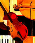 Modern Handmade Music Abstract Oil Painting on Canvas Living Room Wall ART HDF80