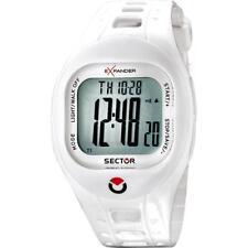 Orologio SECTOR EXPANDER OUTDOOR R3251274115 Contapassi Silicone Bianco Chrono