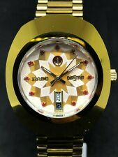 RADO DIASTAR DAY DATE SEALED AUTOMATIC MENS EXCELLENT WRIST WATCH