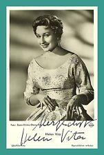 HELEN VITA | Schauspielerin | Original-Autogramm auf UFA-Starpostkarte