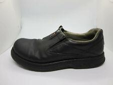 Merrell mens solid black World Legend gore loafers 9 M j45053 EUC