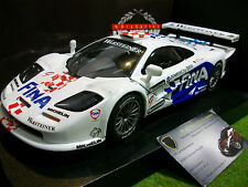 McLAREN F1 GTR #9 FINA GT 1997 1/18 UT MODELS 39711 voiture miniature collection