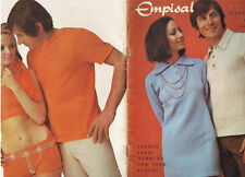Vintage RETRO FASHION Family Knits Empisal  Au 5 Machine Knitting Patterns
