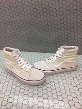 VANS Sk8 Hi Mint Suede/Canvas Lace Up Skate Shoes Men's Size 5  Women's 6.5