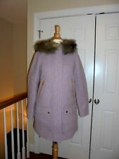 NEW J CREW CHATEAU PARKA  STADIUM CLOTH  COAT,JACKET P6 #G9093 CANTON CANDY
