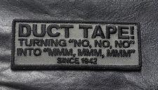 DUCT TAPE Since 1942 ACU TACTICAL COMBAT MILSPEC HOOK LOOP PATCH