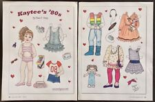 Kaytee's '80s Paper Doll by Diana Vining, Mag. Pd. 2009