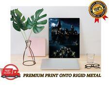 Hogwarts Castle Harry Potter Classic Movie Premium METAL Poster Art Print Gift