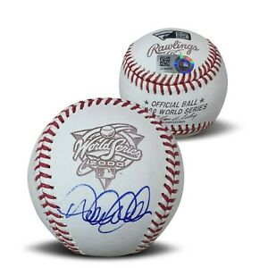 Derek Jeter Autographed 2000 World Series Signed Baseball Fanatics Authentic COA