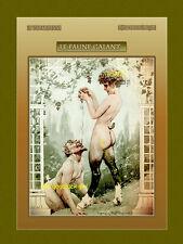 Le Faune Galant French Centaur Satyr La Vie Parisienne 8x10 Milliere Art print