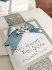 NEW Pocket and Sleeve wedding invitations! Fully personalised, any colour x25