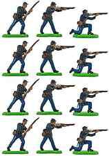 Britains Deetail American Civil War Federal Infantry Plastic Toy Soldiers