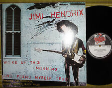 JIMI HENDRIX, WOKE UP THIS MORNING AND FOUND MYSELF DEAD, LP 1980 UK A1/B1 EX/EX