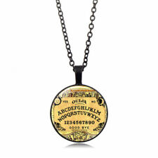 Antique Halloween Vintage Style Gothic Ouija Board Pendant Necklace Jewelry Gift