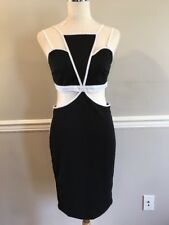Nasty Gal Vera & Lucy Cut Out Bodycon Dress LARGE $70