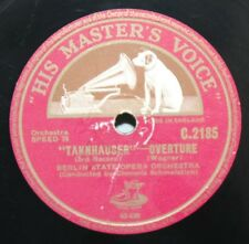 "12"" 78 - Berlin State Opera Orchestra - Tannhauser - HMV C2185"