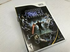 Star Wars The Force Unleashed Nintendo Wii COMPLETE FREE SHIPPING & RETURNS #2