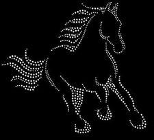 Beautiful Horse Rhinestone Iron on T Shirt Design    NM1Q