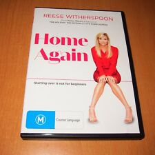 HOME AGAIN ( 2017 DVD , REGION 4 ) REESE WITHERSPOON ~ DISC LIKE NEW !