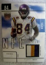 Randy Moss 2003 Skybox Limited Edition 3-Color Patch#27/99 GEM Mint?-Vikings WR