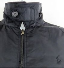 Polo Ralph Lauren RLX Mens Black Jacket Quilted Down Gym Golf Spring S NWT $295
