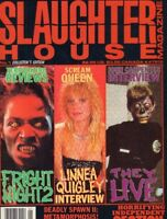 Slaughter House Magazine No.1 Fright Night 2 Linnea Quigley They live 022818DBE