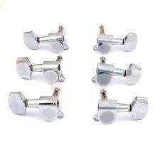 1x Guitar Machine Head Tuning Key Peg Mushroom-Shape, Bass Side E/A/D  Chrome