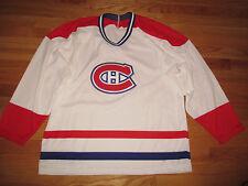 Vintage CCM Replica MONTREAL CANADIENS Hockey (Man MEDIUM) Jersey WHITE