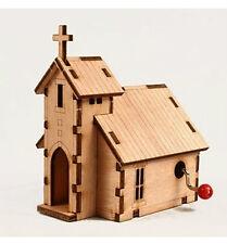 Orgel Church / Music Box / Orgel / WOODEN MODEL KIT