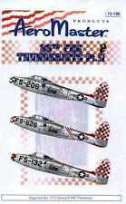 Ad72196/AEROMASTER Décalques-f-84 G - 86th Fbg thunderjets-pt. II - 1/72