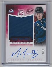 12-13 2012-13 PRIME MIKE CONNOLLY PRIME TIME ROOKIE JERSEY AUTO /50 37 AVALANCHE