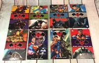 Superman And Batman DC Comics X 8 Graphic Novels TPB Hardback Job Lot Bundle