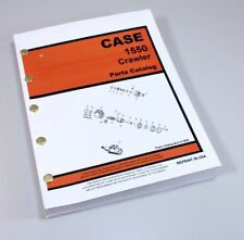 CASE 1550 CRAWLER TRACTOR DOZER PARTS MANUAL CATALOG ASSEMBLY EXPLODED VIEWS