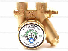 FLUID-O-TECH BRASS ROTARY VANE PROCON PUMP WITH RELIEVE VLV 100 GPH NEW 132285