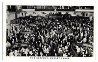 1956 New York Stock Exchange Trading Floor, New York City Postcard