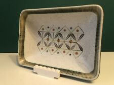 Stunning 60's Langley Denby Sycamore Modernist Stoneware Bowl Tray Glyn Colledge