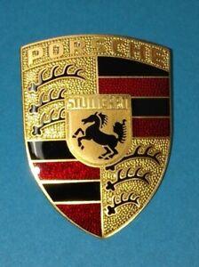 Original Porsche 911 Haubenwappen / Deckelwappen