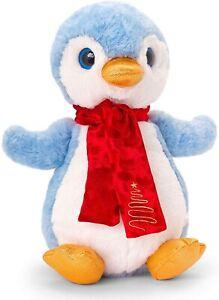 Keel Toys Medium Christmas Penguin Plush Soft Toy Boys or Girls Gift New